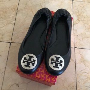 Tory Burch used flats like new used one time